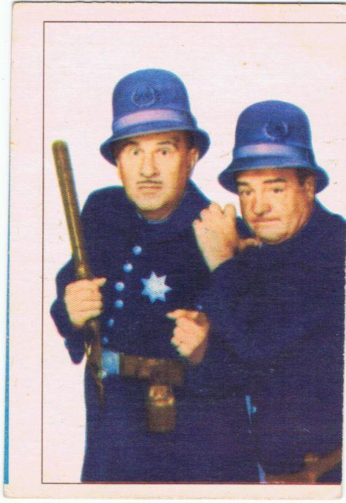 Abbott Costello 1955 Parkhurst Movie TV Stars
