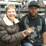 Barry Cofield with Super Bowl Ring