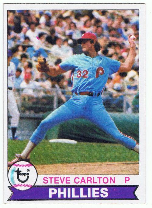 1979 Topps Steve Carlton Baseball