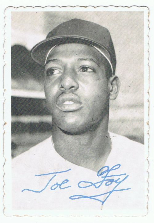 Foy Joe 1969 Topps Deckle Edge Variation Rk Sports Promotions