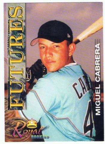 Cabrera, Miguel 2001 Royal Rookies Rookie | RK Sports ... Miguel Cabrera Fantasy Outlook